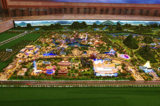 文旅院赴桂林进行沙盘模型联合检查
