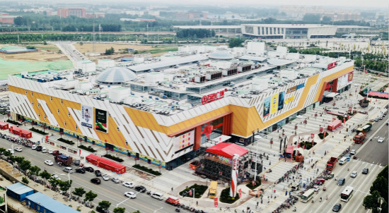 Hebi Wanda Plaza Opens for Business