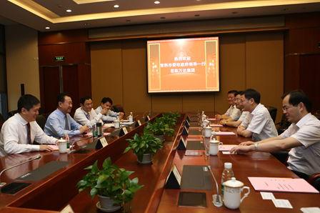 王健林董事長會見常熟市委市政府領導