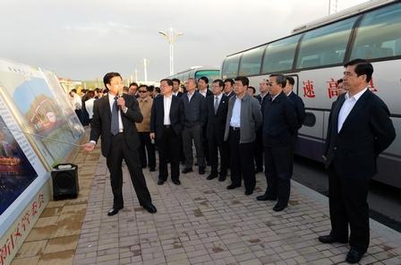 Inner Mongolia Party Chief Visits Wanda Plaza