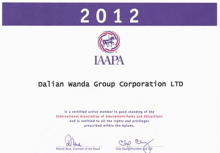 Wanda Gets IAAPA Senior Membership