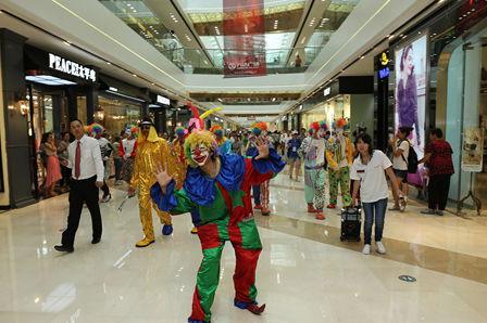 沈陽奧體萬達廣場盛大開業 助力第十二屆全運會