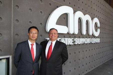 AMC影院新總部亮相 張霖出席揭幕式宣讀董事長賀信