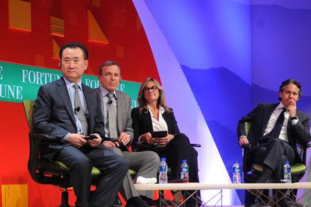 王健林董事长出席《财富》全球论坛 畅谈三大议题