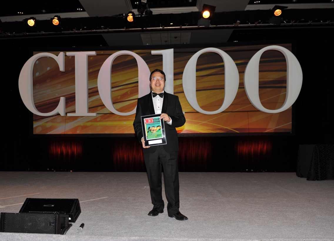萬達集團榮獲2013年度CIO100大獎