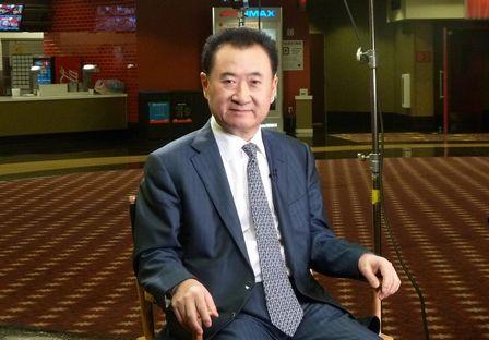 王健林董事長接受美國CNBC電視臺采訪