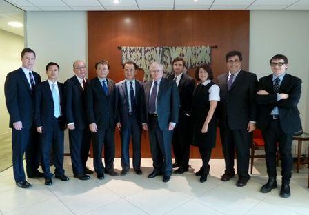 王健林董事長會晤美國前國務卿及前國家安全顧問