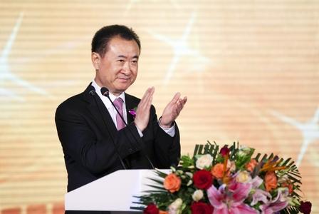 王健林董事長在簽約儀式上致辭