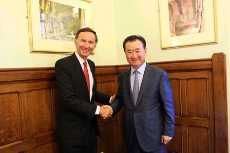 董事長與英國貿易投資部部長舉行午餐會