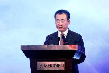 王健林在中國電影論壇發表演講:讓中國電影走向世界