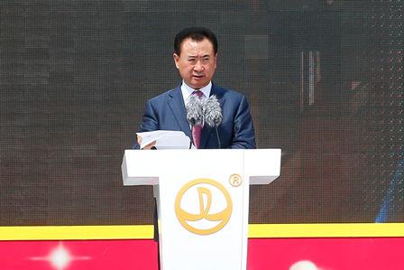 万达集团董事长王健林:世界电影市场发展前途在中国