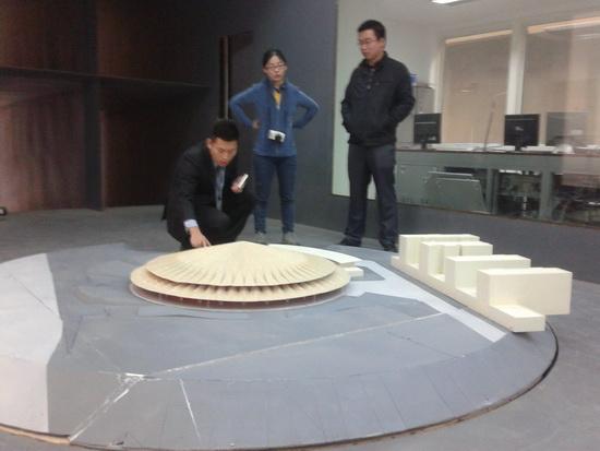 西雙版納傣秀劇場風洞試驗完成測試工作