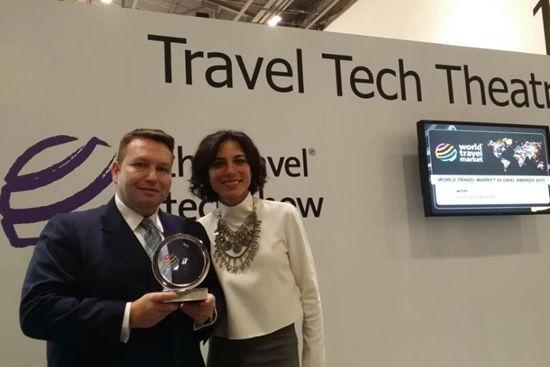 酒管公司榮獲2013世界旅游交易會全球獎