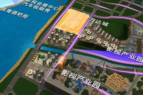 世界最大智能沙盤亮相青島東方影都