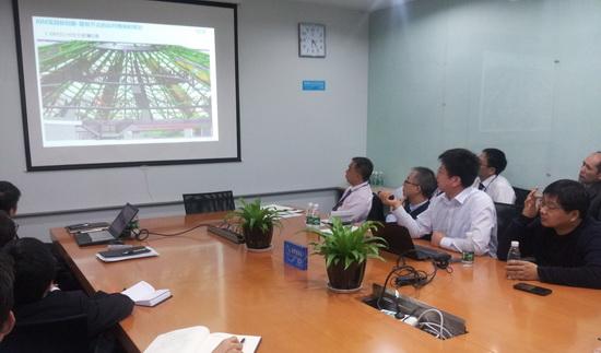 萬達文旅院邀請BIM專家技術研討 深化對建筑信息模型認識