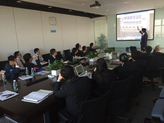 萬達文旅院開展照明一鍵式控制系統培訓 加強各部所溝通