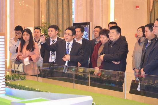 四川省商務廳廳長到內江萬達廣場調研 建成開業影響整個川南