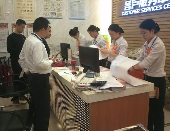 重慶區域萬達百貨舉行大練兵活動 發現亮點也看到不足