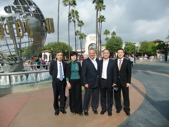 万达文旅院赴洛杉矶考察影视基地 为东方影都获取第一手资料