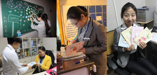 洛阳万达影城_洛阳万达影城进行员工感恩行动 手写贺卡表达对同事祝福- 万达官网