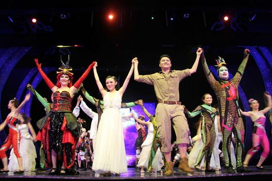 吸引韓俄新興市場觀眾 三亞萬達演藝提前完成年度經營指標