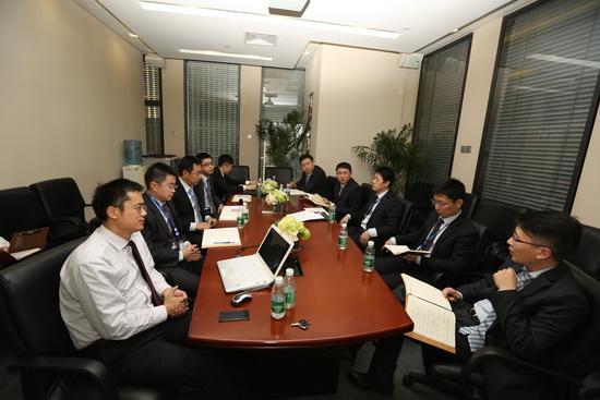萬達集團法律事務中心與萬達百貨總部召開風險防控研討會