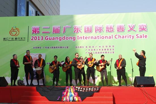 国际慈善义卖在广州白云万达广场举行 筹得40万捐慈善机构