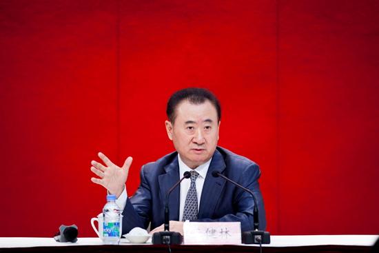 王健林上海演讲详解万达文化产业