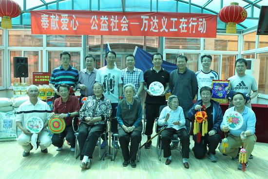 文化集团总部开展主题义工活动 总裁张霖参加