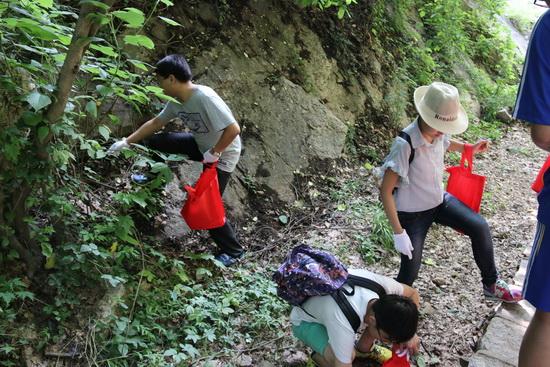 万达西安项目公司开展环保义工行活动