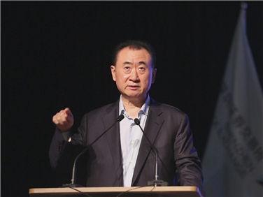 """王健林董事長深交所演講談""""輕資產"""""""