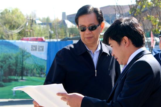 吉林省人大副主任陈伟根考察长白山国际度假区
