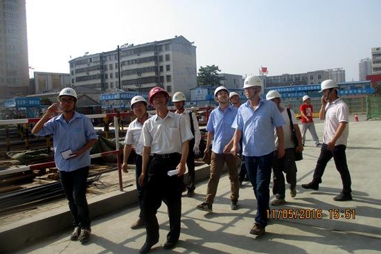 山东省安全管理处高度评价枣庄万达广场安全工作