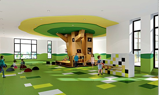 Qingdao Oriental Movie Metropolis International School Sets Interior Classy Architecture And Interior Design Schools Decor