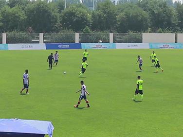 明仕国际娱乐足球联赛半决赛:总部机关vs酒店管理(上半场)