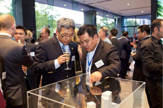 悉尼项目企业举办2016年圣诞答谢酒会