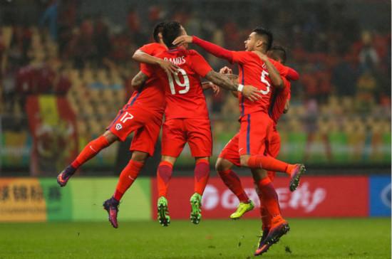 """""""中国杯""""智利队淘汰克罗地亚 将与冰岛争冠"""