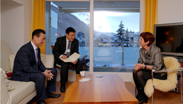 Chairman Wang Jianlin Meets with Oxford Vice...