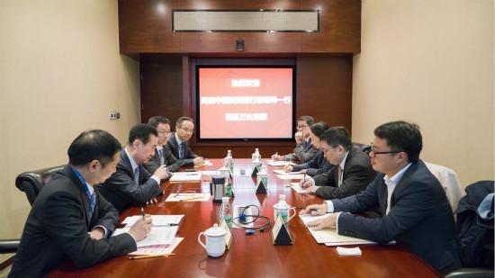 王健林董事长会见高盛中国投资银行部领导一行