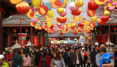 Wanda Cities becomes China's largest Spring Festival temple fairs as Nanchang and Hefei saw foot traffic of more than 1.5 million