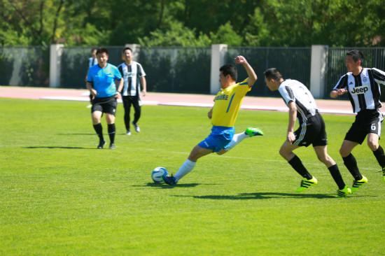 集团第二届职工足球联赛第二轮小组赛结束