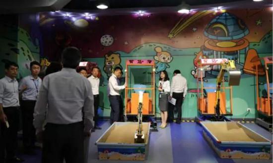 汉街万达儿童乐园通过2017年安全管理标杆单位检查