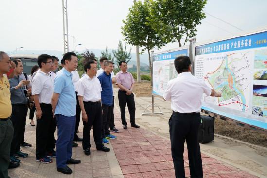 王健林董事长赴广元扶贫调研第一天