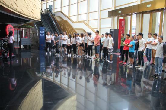 中国地质大学师生访问汉秀 拉开校企合作序幕