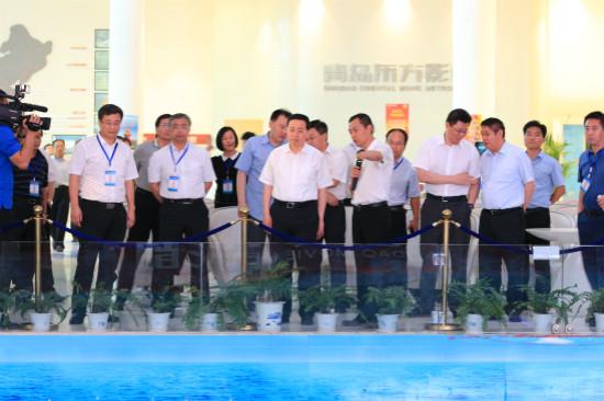 山东省委常委和副省长考察青岛东方影都