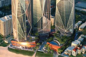 万达澳大利亚项目投资 黄金海岸珠宝三塔项目