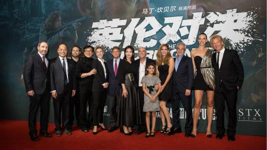 万达影视出品《英伦对决》全球首映