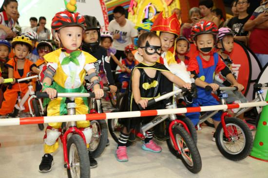 环广西公路自行车世界巡回赛骑趣体验营收官