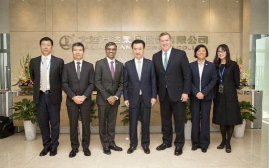王健林董事长会见美国绿色建筑委员会一行