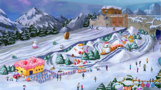 昆明万达城娱雪乐园制冷造雪方案评审完成